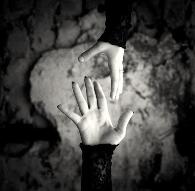Connu Photo d'amour en noir et blanc triste - Love Romance XM72