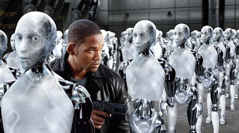 REPLIQUE DE FILM I Robot