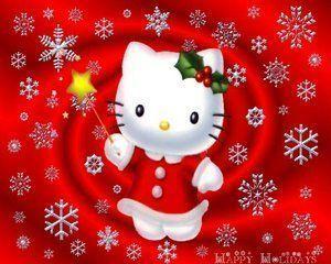 Gifs hello kitty no l - Hello kitty noel ...