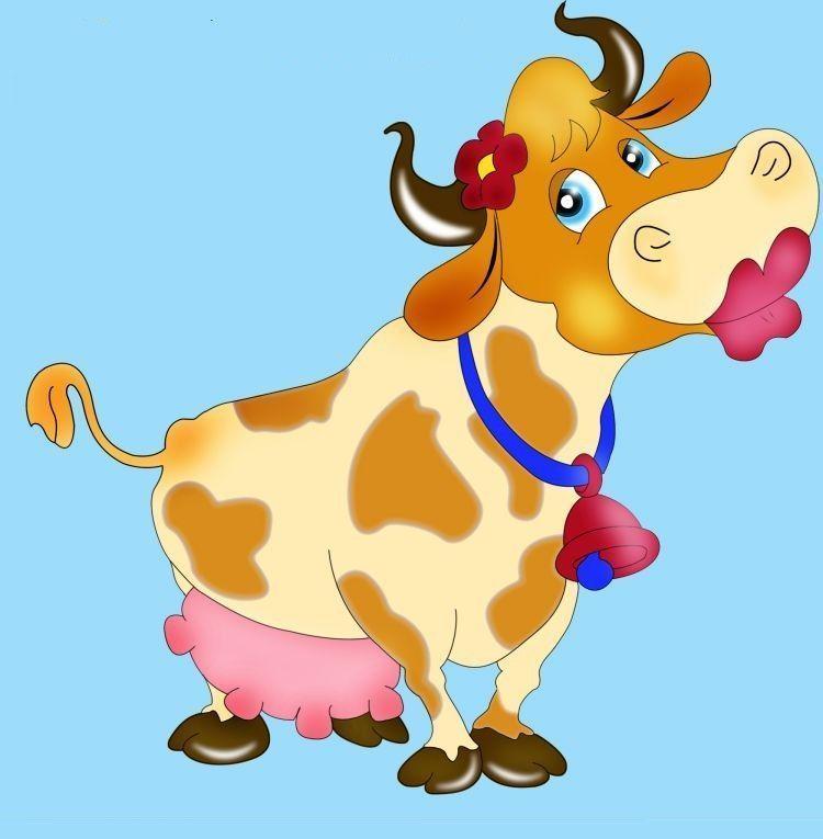 Vache - Vache normande dessin ...